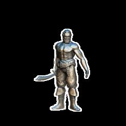 deckhand.png Télécharger fichier OBJ gratuit Homme de pont • Modèle pour impression 3D, gepardowaty
