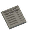 Download free STL file Memory card / Flash drive holder  • 3D printing template, DadsDiy