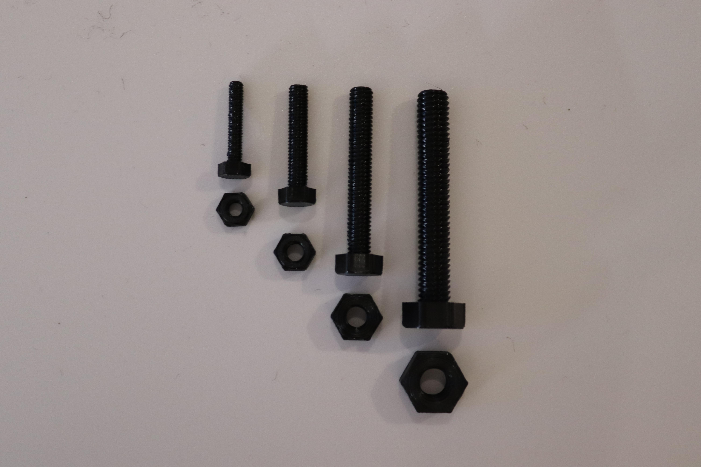 IMG_0343.JPG Download free STL file M8 M6 M5 M4 Bolts and nuts • 3D printer object, DadsDiy