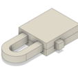 Download free 3D model 100% Printable Lock, DadsDiy