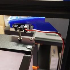 Descargar modelos 3D gratis Tronxy X5S Soporte de tope para los límites ópticos del eje Z, Gnattycole