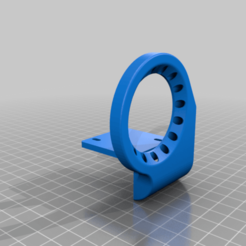 Fan_duct_4020_V1.2countersunk_mount_slots.png Download free STL file Tronxy X5S Cooling Fan Duct for standard Printhead Carriage • 3D printable template, Gnattycole