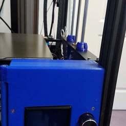 Nats_control_box_Tronxy_X5S_cor.jpg Download free STL file Tronxy X5S Electronics Box for SKR 1.3 and Raspberry Pi. • 3D printer model, Gnattycole