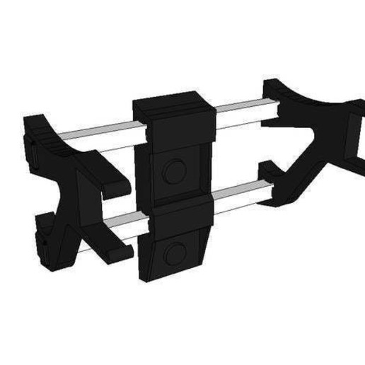 Download free STL file PS4 wall mount camera support • 3D printing template, Cozi_Officiel