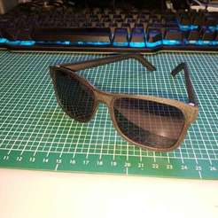 Download free STL file 3D printed Sunglasses (for use with Polaroid PLD D343 807 glasses) • 3D printer template, JannisJFry