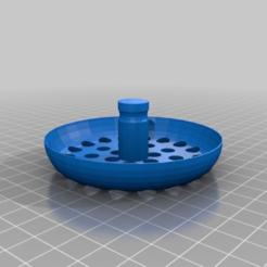 Download free STL file Sink Drain Filter for Blanco 80mm • 3D printable template, JannisJFry
