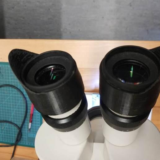 Download free STL file Microscope Eyepiece side Sun bocker • 3D printing model, JannisJFry