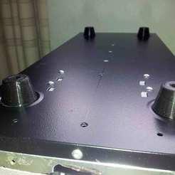 001.jpg Télécharger fichier STL gratuit Pied pour boîte d'armoire informatique. • Objet à imprimer en 3D, jpo41