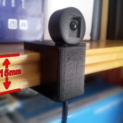 ir005.jpg Download free STL file Infrared TV holder. • Design to 3D print, jpo41