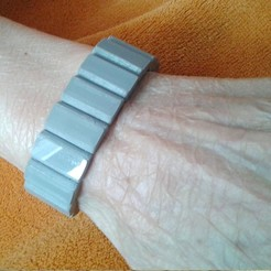 PICT1240.JPG Download free STL file Elastic bracelet for older people. • 3D printable model, jpo41
