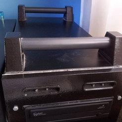 000.jpg Télécharger fichier STL gratuit Poignée de transport de l'ordinateur. • Plan à imprimer en 3D, jpo41