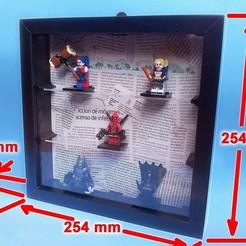 marcoIKEA-000.jpg Télécharger fichier STL gratuit Cadre Lego Ikea. • Objet imprimable en 3D, jpo41