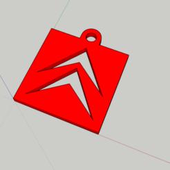 Citroen keichain.png Download STL file 80's Citroën Keychain • 3D printable model, _Placi2_