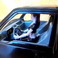 Descargar archivo 3D Driver girl for rc and model vehicles, _Placi2_