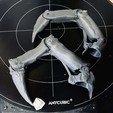 Download 3D print files Bone Finger Updated , Mephistopheles_3D