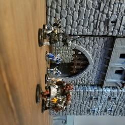 Descargar archivos STL Paisaje Medieval - Puerta del Castillo, gokuofzinkai