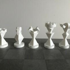 01 - All pawns.jpeg Télécharger fichier STL Chess Queen's Gambit (Jeu de la dame) • Design pour impression 3D, sushyouhaha