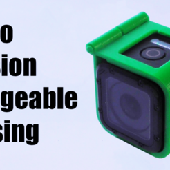Download free 3D printing models GoPro Session Chargeable Housing, Supersystems