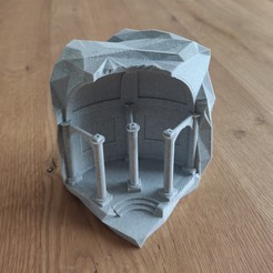 IMG_20200812_140708.jpg Télécharger fichier STL Un temple dans le roc • Design pour imprimante 3D, tresdeprint