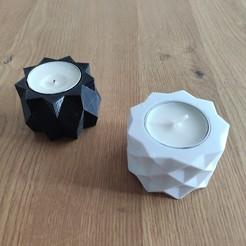 Imprimir en 3D Geometric candleholder, tresdeprint