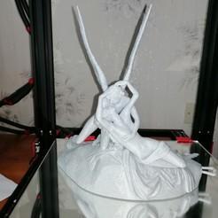 Imprimir en 3D gratis Psique Revivido por el Beso de Cupido en el Louvre, París (remezcla), titgone