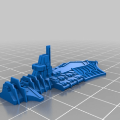 e12d0073618be68852b183270f75c20f.png Download free STL file Fanatic class light chaos cruiser modified top • Object to 3D print, Tinnut