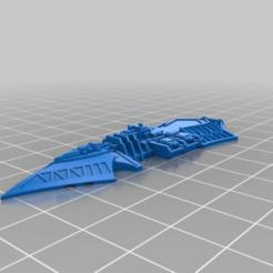 f20a2c1c8e482d0e7815ed7bddb64df3.png Download free STL file Schismatic class light chaos cruiser • 3D printer model, Tinnut