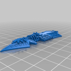 434349969901485e85aecbc218a02c0f.png Download free STL file Heretic Class Light Chaos Cruiser • Design to 3D print, Tinnut