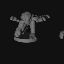 genestealers.png Download free STL file Epic scale (6mm) space bug thieves • 3D print model, Tinnut