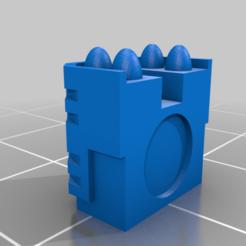 Whirlwind_Launcher.png Download free STL file Variant of Whirlwind Artillery Vehicle (Epic 40K - 6mm scale) • 3D printing template, Tinnut
