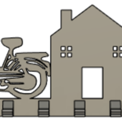 mob2.PNG Télécharger fichier STL gratuit Porte clés murale / Wall Keys holder 2 • Plan pour imprimante 3D, Brixodin