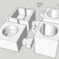 Descargar modelo 3D gratis Colorante de filamentos Marcador permanente de borrado, Milan_Gajic