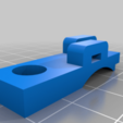 LAMPADAPTER.png Download free STL file Ikea Jansjo V1017 Clamp Conversion Adapter • 3D printable object, Milan_Gajic