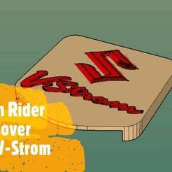 tomtom_Moment.jpg Download free GCODE file TomTom Rider Mount Cover Suzuki V-Strom • 3D printing design, Milan_Gajic