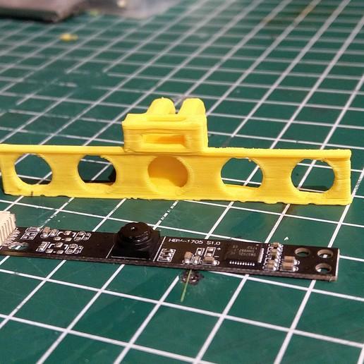 190925-IMG_20190925_204041.jpg Télécharger fichier STL gratuit Module de caméra HM1355 à l'adaptateur GoPRo • Plan imprimable en 3D, Milan_Gajic