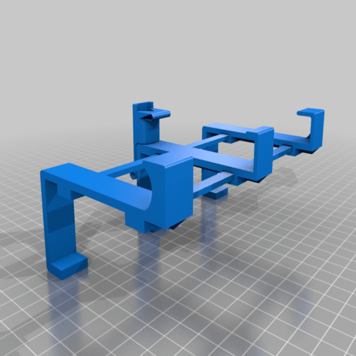 MountCompletenon-printable.png Télécharger fichier STL gratuit Support de téléphone pour lit IKEA STUVA / FRITIDS • Plan pour impression 3D, Milan_Gajic