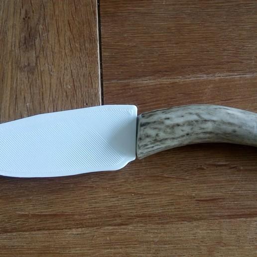 170821-DSC_2399.JPG Télécharger fichier STL gratuit Gaine de base pour un couteau sur mesure (couteau inclus) • Design à imprimer en 3D, Milan_Gajic