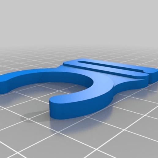 Télécharger Modèle 3D Gratuit Attache De Sangle De
