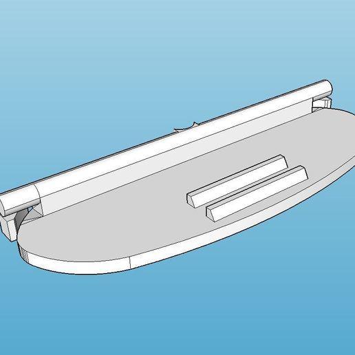 Download free 3D printing templates Philips Cucina HD 2431 3in1 Toaster Lock Button, Milan_Gajic