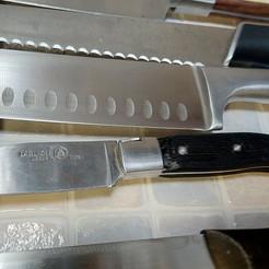 Download free 3D printer model Laguiole medium kithen knife temporary grip, Milan_Gajic