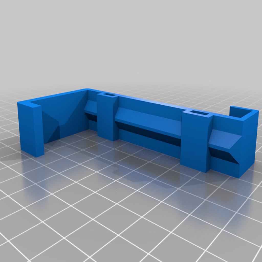 MountRight.png Télécharger fichier STL gratuit Support de téléphone pour lit IKEA STUVA / FRITIDS • Plan pour impression 3D, Milan_Gajic
