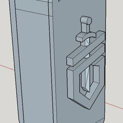 Gerber_Dime_Belt_Cradle_-_SketchUp_1.jpg Télécharger fichier STL gratuit Berceau Gerber Dime Belt • Design pour impression 3D, Milan_Gajic