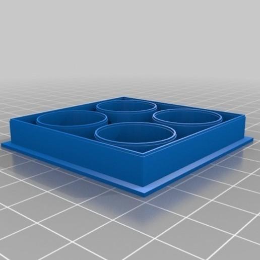 Télécharger modèle 3D gratuit Boîte à maquillage Cokie / Fondant Cutter, Milan_Gajic
