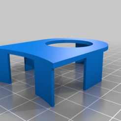 PIRVersteviging.png Download free GCODE file Pir sensor holder for ceiling lamp • 3D printing design, Milan_Gajic
