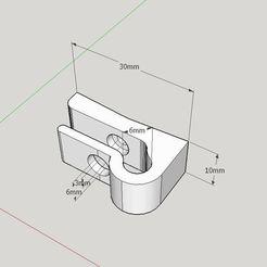 Télécharger modèle 3D gratuit Dispositif de retenue de l'égouttoir - alias crochet, Milan_Gajic