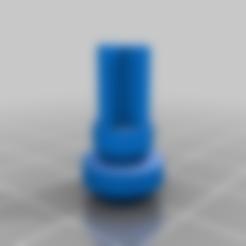 Download free 3D printer files 8mm tripod foot plug, Milan_Gajic