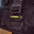 Télécharger fichier STL gratuit Verrouillage par sangle de 25 mm et porte-bâton lumineux • Design à imprimer en 3D, Milan_Gajic
