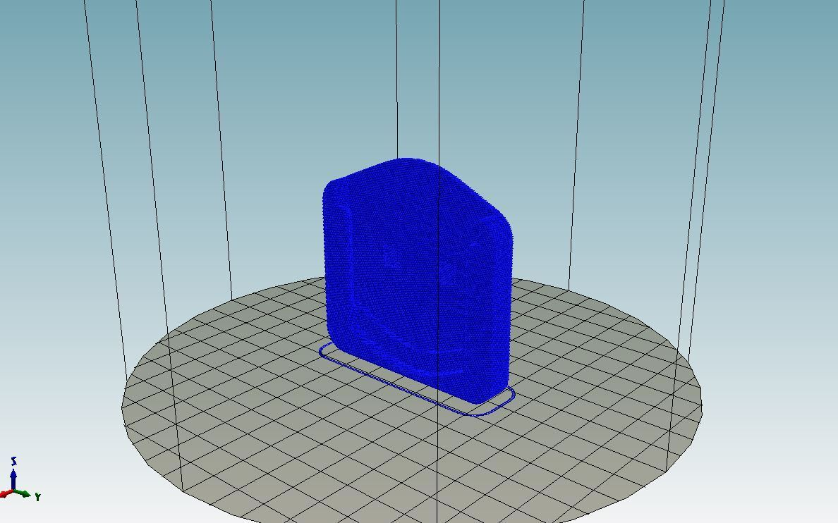 2018-09-17_11_15_41-Repetier-Host_V1.6.0_-_TomTomRiderProtector.jpg Download free STL file TomTom Rider charger easy-print protector • 3D print model, Milan_Gajic