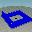 2018-04-30_17_15_59-Repetier-Host_V1.6.0_-_PhoneStandV1.1.png Download free STL file Foldable phone stand • 3D printable template, Milan_Gajic