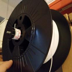 Télécharger fichier 3D gratuit 608 ZZ Bague d'écartement pour tige filetée de 5 mm Porte-bobine, Milan_Gajic